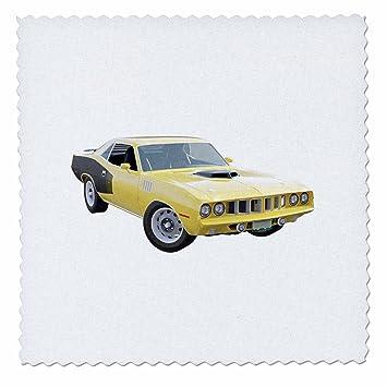 Amazon Com 3drose Boehm Graphics Car 1971 Muscle Car Yellow
