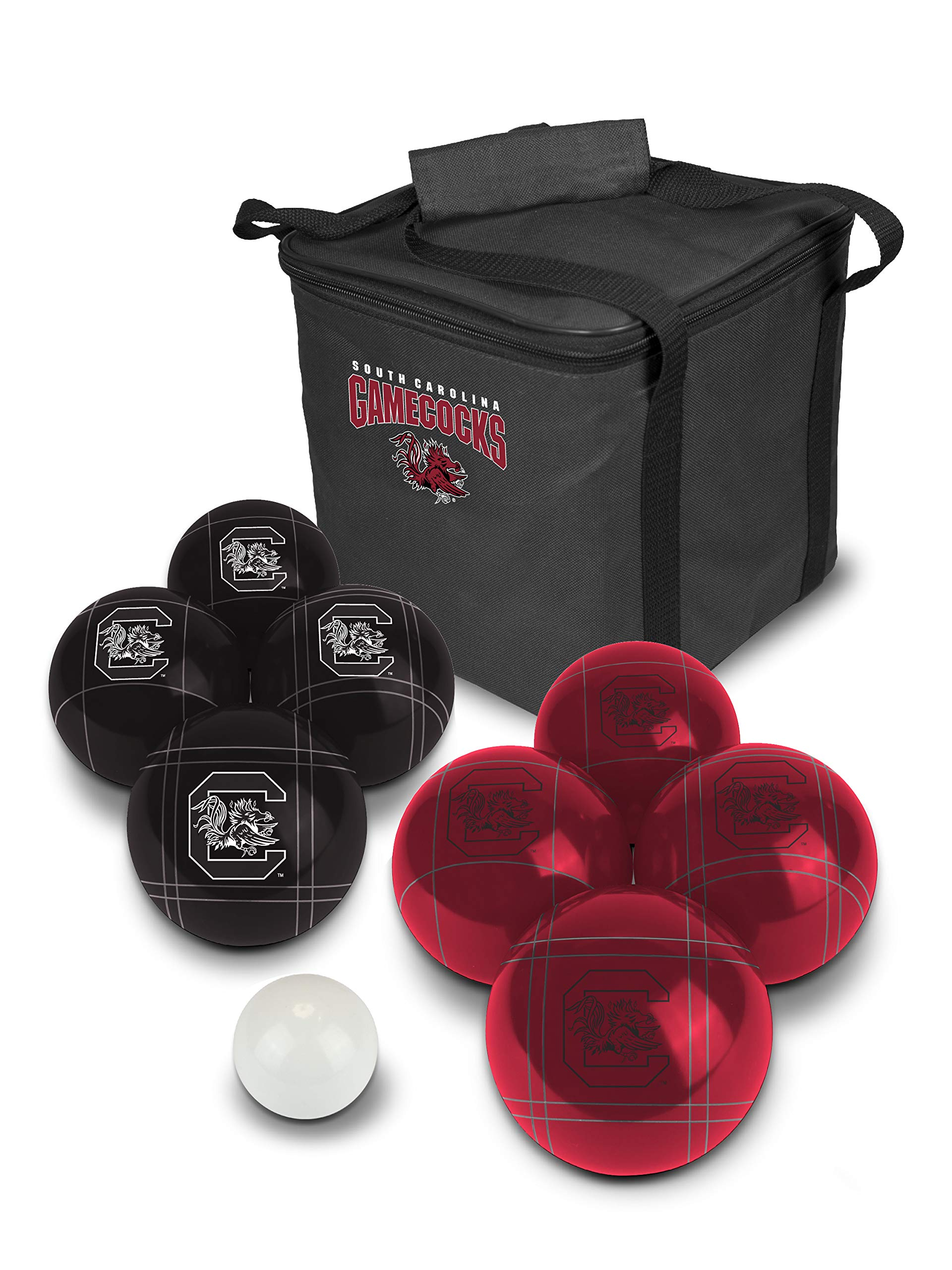PROLINE NCAA College South Carolina Gamecocks Bocce Ball Set, Multicolor by PROLINE