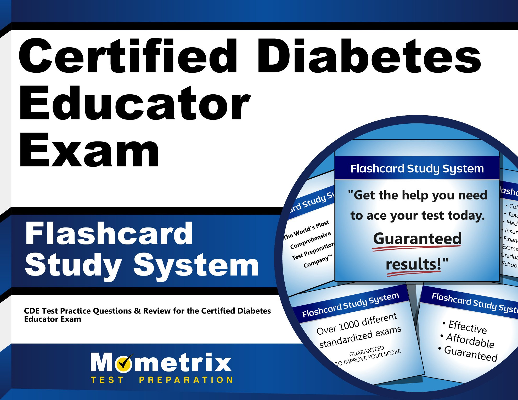 Certified Diabetes Educator Flashcard System product image