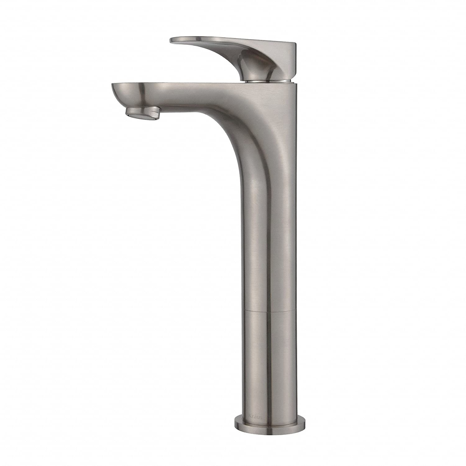 Kraus FVS 13900BN Aquila Single Lever Vessel Bathroom Faucet, Brushed  Nickel     Amazon.com