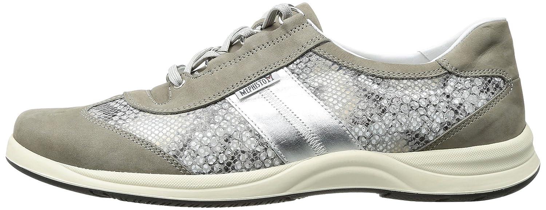 Mephisto Women's Laser Walking Shoe B01IDT7TVW 7.5 B(M) US|Light Grey Bucksoft/Sand Boa/Nickel Pearl Calfskin