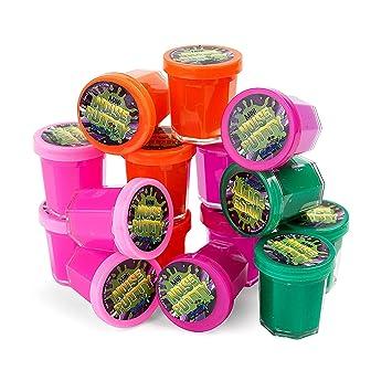Amazon.com: Mega - Pack de 48 mini masilla de ruido en ...