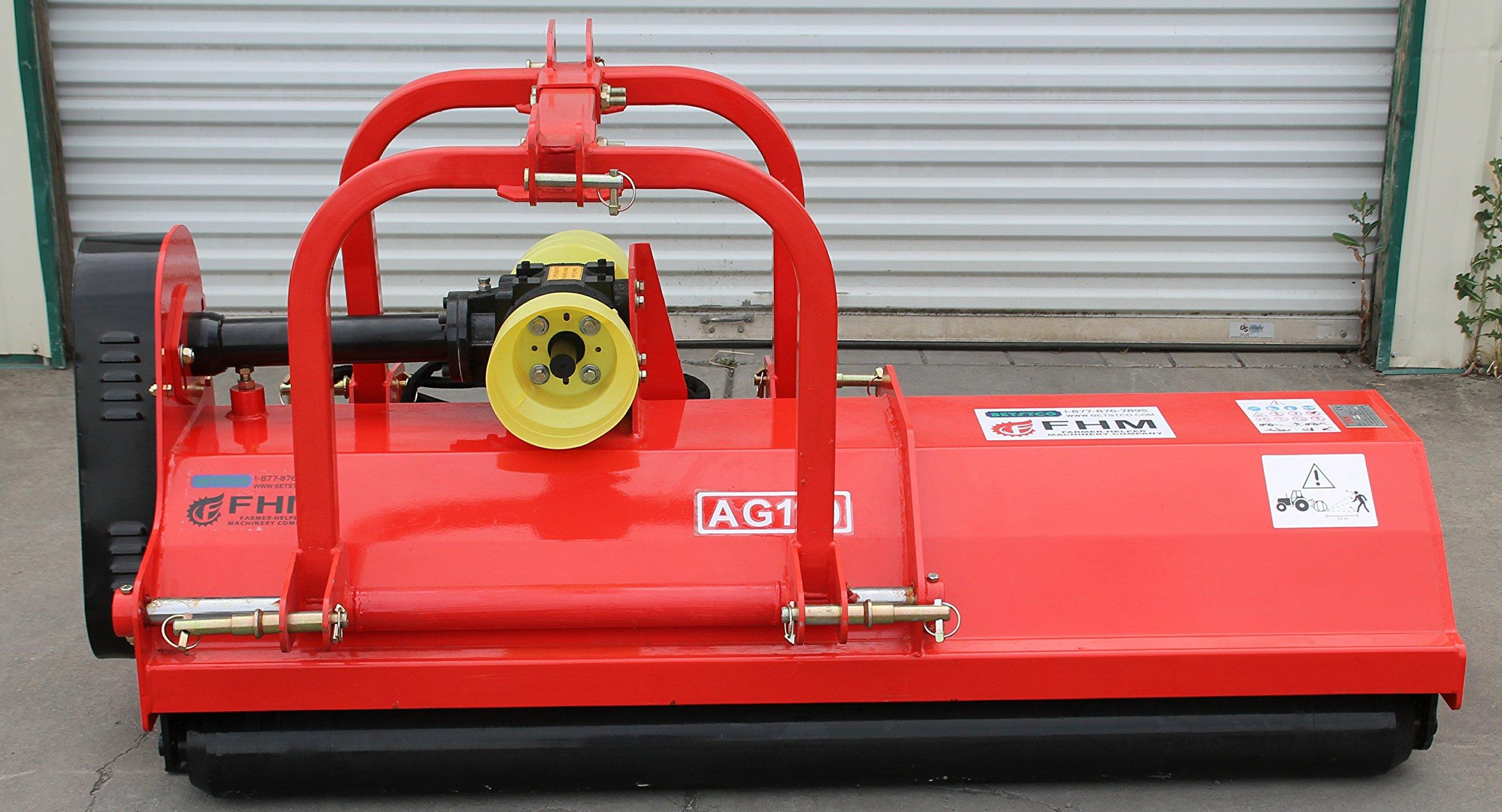 Farmer Helper 71'' Flail Mower/Mulcher w/Hydraulic Offset ~Cat.I/II 3pt 40+HP Rating (FH-AG180)