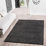 Shaggy Teppich Hochflor Langflor Teppiche Wohnzimmer Preishammer Versch Farben Grsse120x170 Cm