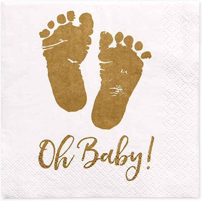 The Best Oh Baby Beverage Napkins