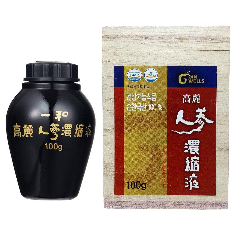 高麗人参 一和高麗人参濃縮液 エキス 100g 1本 最高ジンセノサイド (100g) [並行輸入品] B016UM1JFG   100g