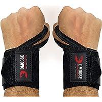 DMoose Fitness Wrist Wraps - Premium kwaliteit, sterke bevestigingsbanden, duimlusjes - Maximaliseer je gewichtheffen…