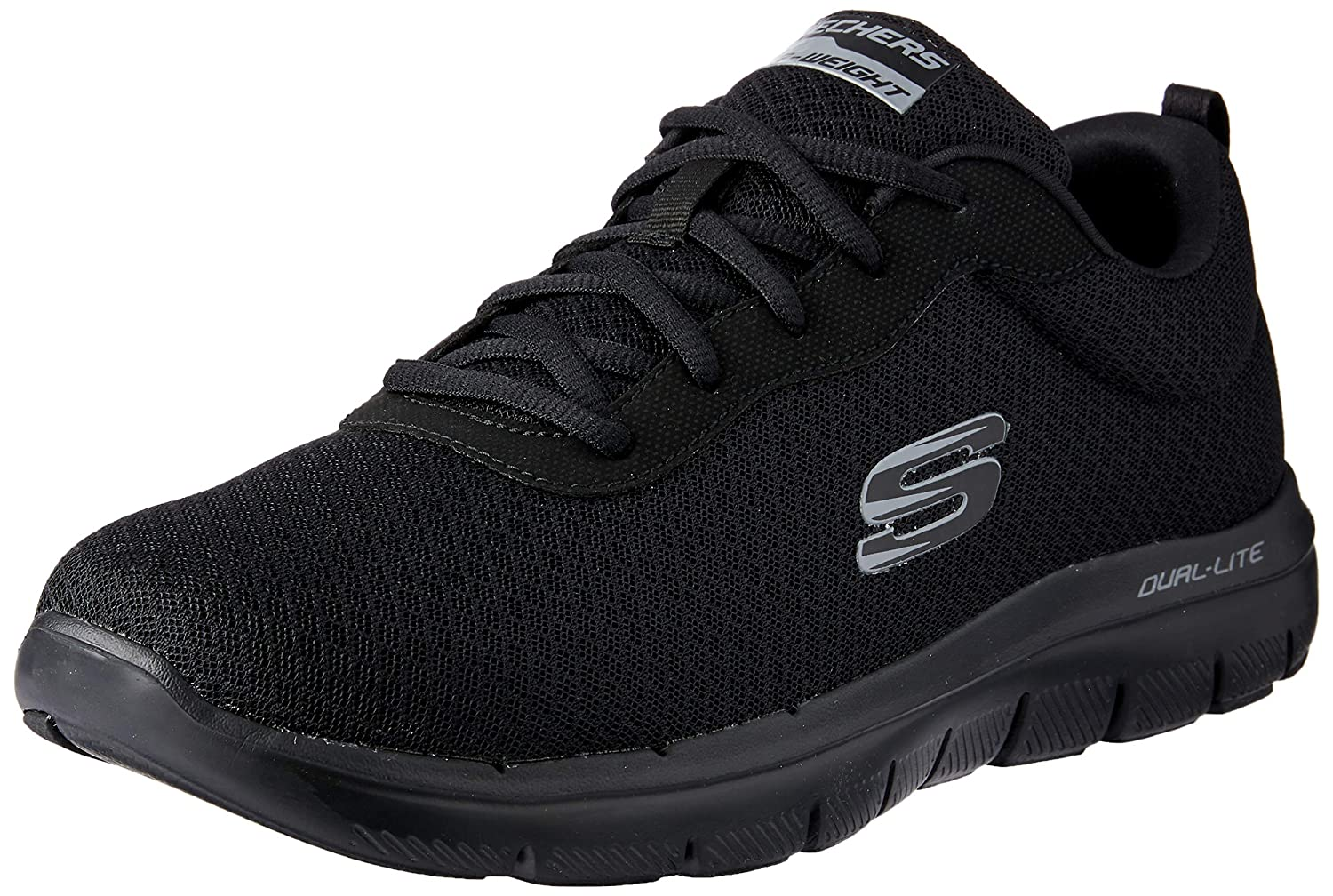 Black Skechers Men's 52125 Trainers