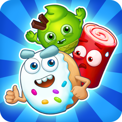 Sugar Heroes - World match 3 game! (Games Three Free Match)