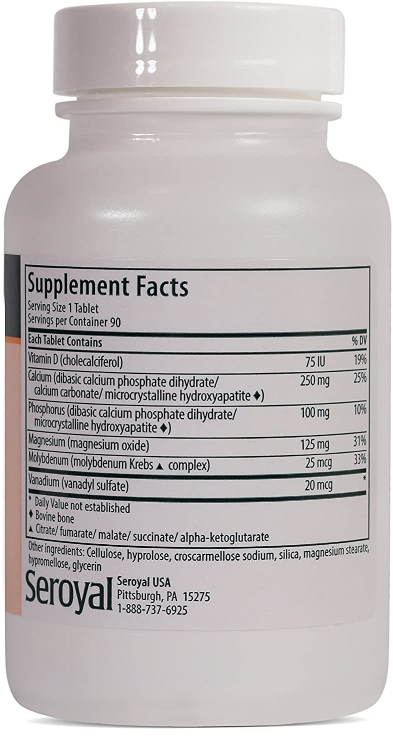 Amazon.com: Genestra Brands - Formula OSX - Calcium-Magnesium Supplement - 90 Tablets: Health & Personal Care