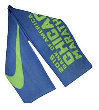 buy popular fc11c 34a06 Image Unavailable. Image not available for. Color  Nike Elite Digital Ink  Running Socks 2015 Chicago Marathon