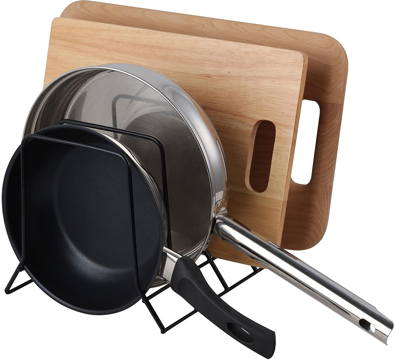 Amazon.com: Organizador para cocina Neat-O, negro, Acero ...