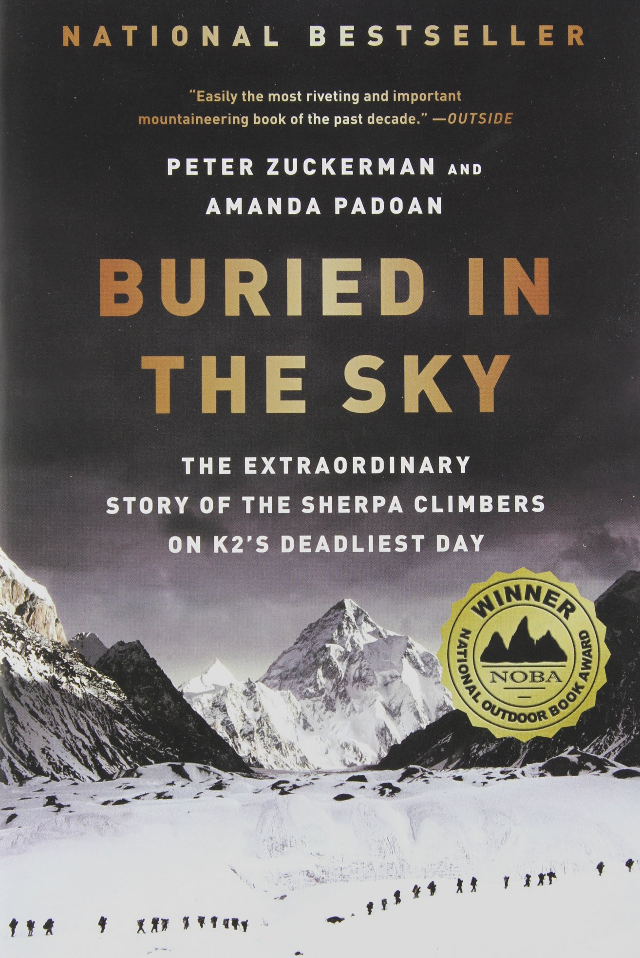 Buried Sky Extraordinary Climbers Deadliest product image