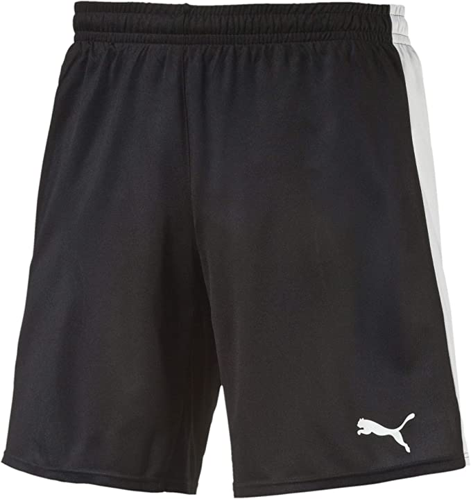 164 PUMA Kinder Hose Pitch Shorts with Innerbrief White-Black