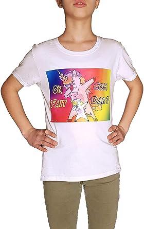 Kalféa - Camiseta Infantil con diseño de Unicornio Dab: Amazon.es: Ropa y accesorios