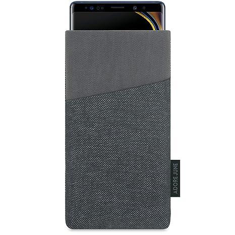 adore june note 9  Adore June Custodia Samsung Galaxy Note 9, [Serie Clive] Borsa ...