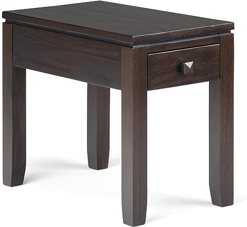 SIMPLIHOME Cosmopolitan Narrow Side End Tables