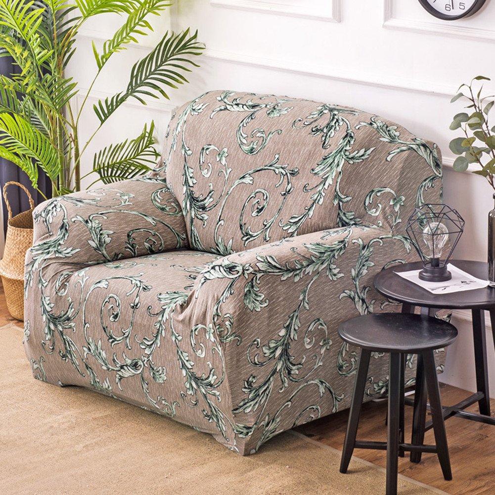 einfache Passform 1 seater Fastar Sofa Bezug Typ A Stretch 1/2/3/4-Sitzer-Schonbezug Polyester rutschsicherer Schonbezug Stuhl Sofa bedruckt volldeckend