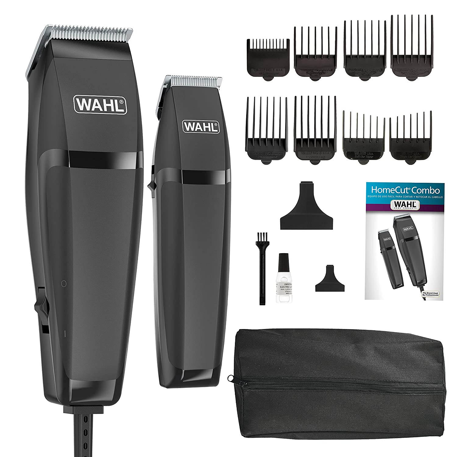Amazon.com   Wahl Combo Pro Styling Kit  79450   Hair Clipper Kits And Sets    Beauty d21e5c89aaaf