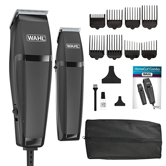 Amazon.com : Wahl Clipper Combo Pro 14 Piece Styling Kit with Hair Clipper and Beard Trimmer for Total Body Grooming - Model 79450 : Hair Clipper Kits And Sets : Beauty