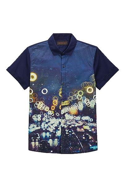 next Niños Camisa Manga Corta Estampado Luces Urbanas Multicolor (3-16 Años)