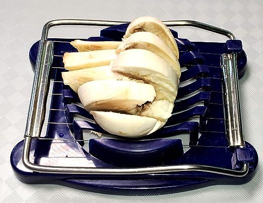 8 x 10 cm Eierschneider Eierteiler Eierzerkleinerer Kunststoff ca