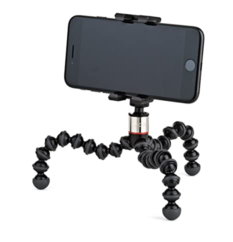 new concept ae737 0b7dc GripTight ONE GorillaPod Stand: Flexible Tripod and Mount for Smartphones  from iPhone SE to iPhone 8 Plus, Google Pixel, Samsung Galaxy S8 and More