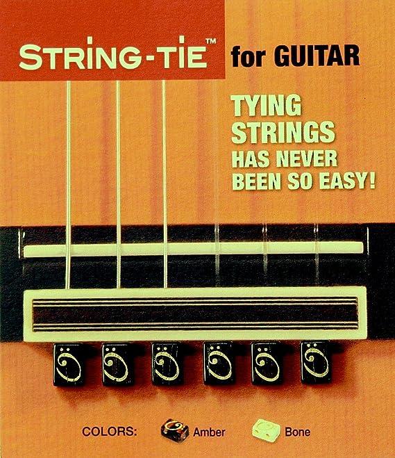 TSTGB TENOR String-Tie Tailpiece BridgeBeads Set for Classical or Flamenco Spanish Guitar