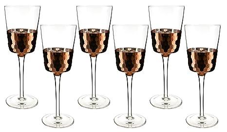 cb1b5b0f3b3 Amazon.com | Fine 16 OZ Multi-purpose Wine or Water Glasses with ...