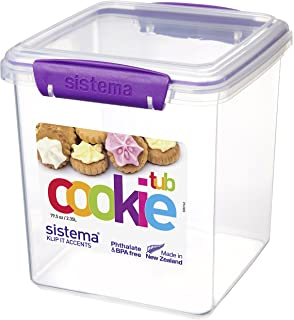 Sistema KLIP IT Accents Cookie Tub, 2.35 L   Assorted Colours