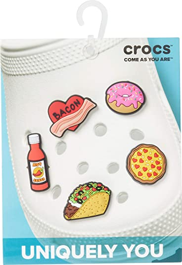 Authentic Jibbitz Charm for Croc Shoes Cupcakes Banana Split Donut Sweets