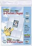 Asmodee - 84847 - Paquets De 10 Feuilles De Classeur Pikachu (Version Française)