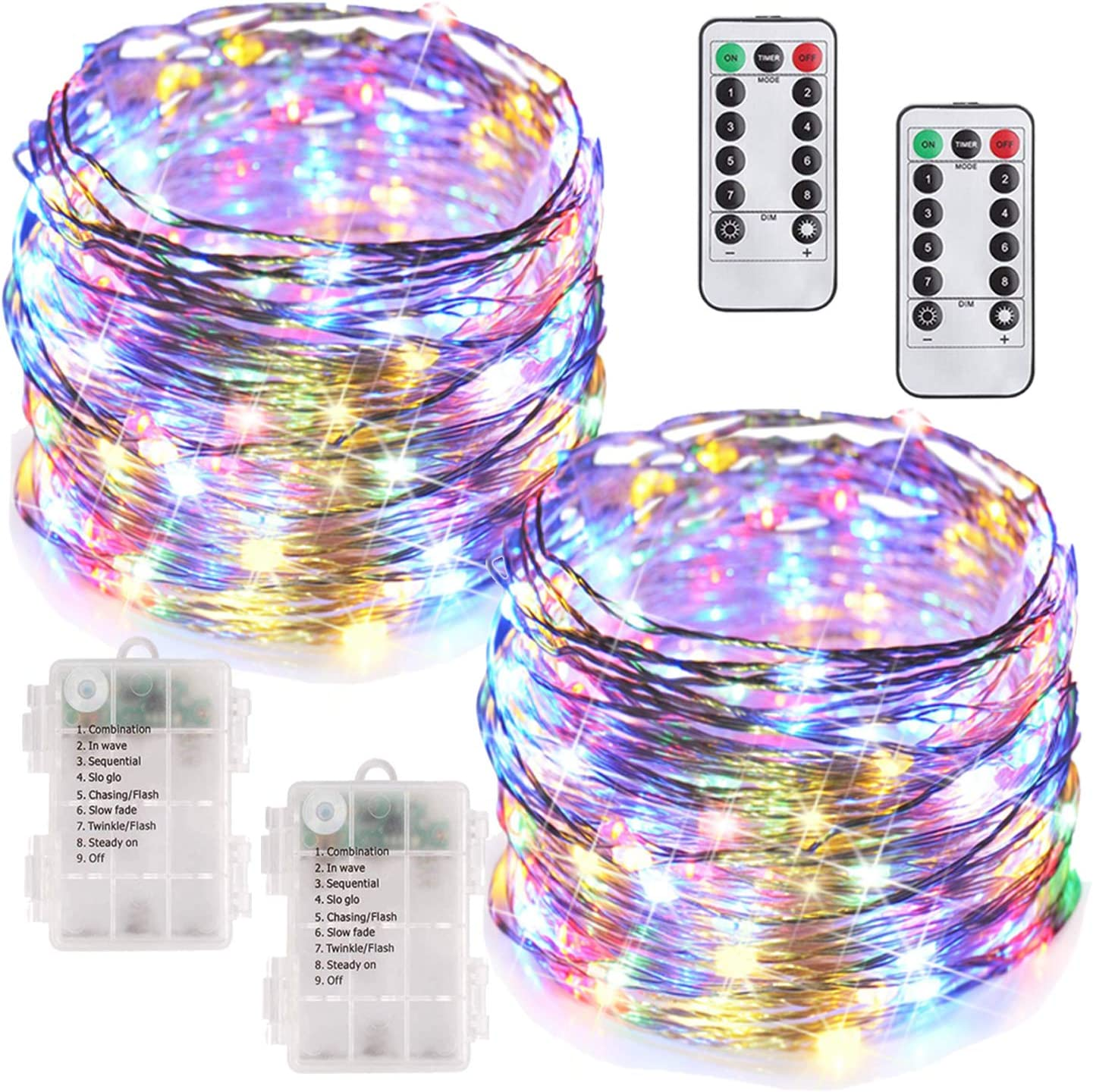 Amazon coupon code for 100 LED Fairy Lights Battery Operated String Lights
