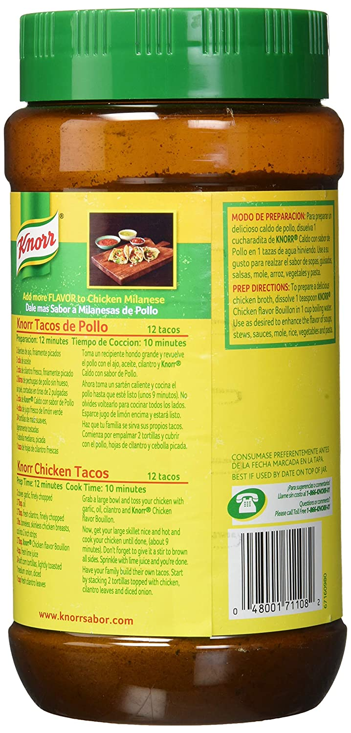 Knorr Bouillon, Granulated, Chicken Flavored, 35 3-Ounce Jar