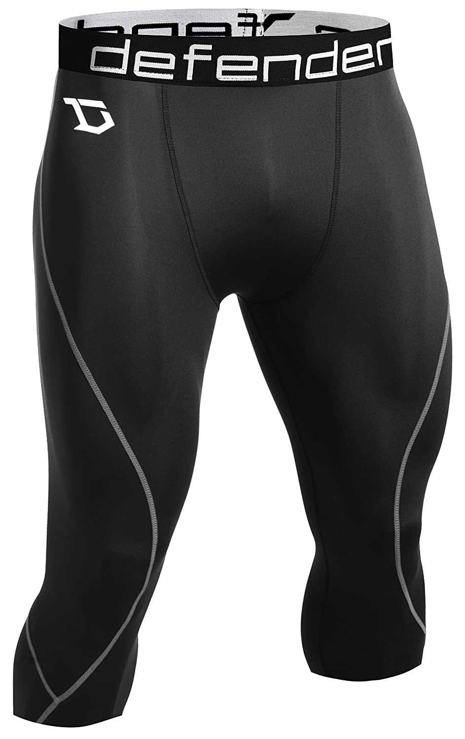 Defender New Men's Compression Baselayer Capri