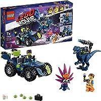 LEGO La LEGO Película 2 - Todoterreno Rextremo de Rex, set de construcción 3 en 1 con dinosaurio y coche de juguete, incluye figura de Plantimal (70826)