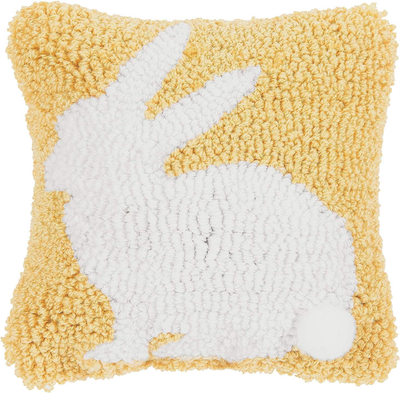C&F Home Yellow Bunny Petite Pillow Yellow 8