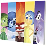 "Disney Inside Out  11.5"" x 15.75"" LED Canvas Wall Art"