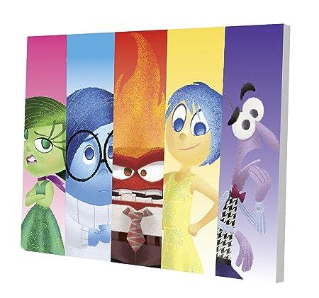 Disney Inside Out 11.5 x 15.75 LED Canvas Wall Art by Disney ...