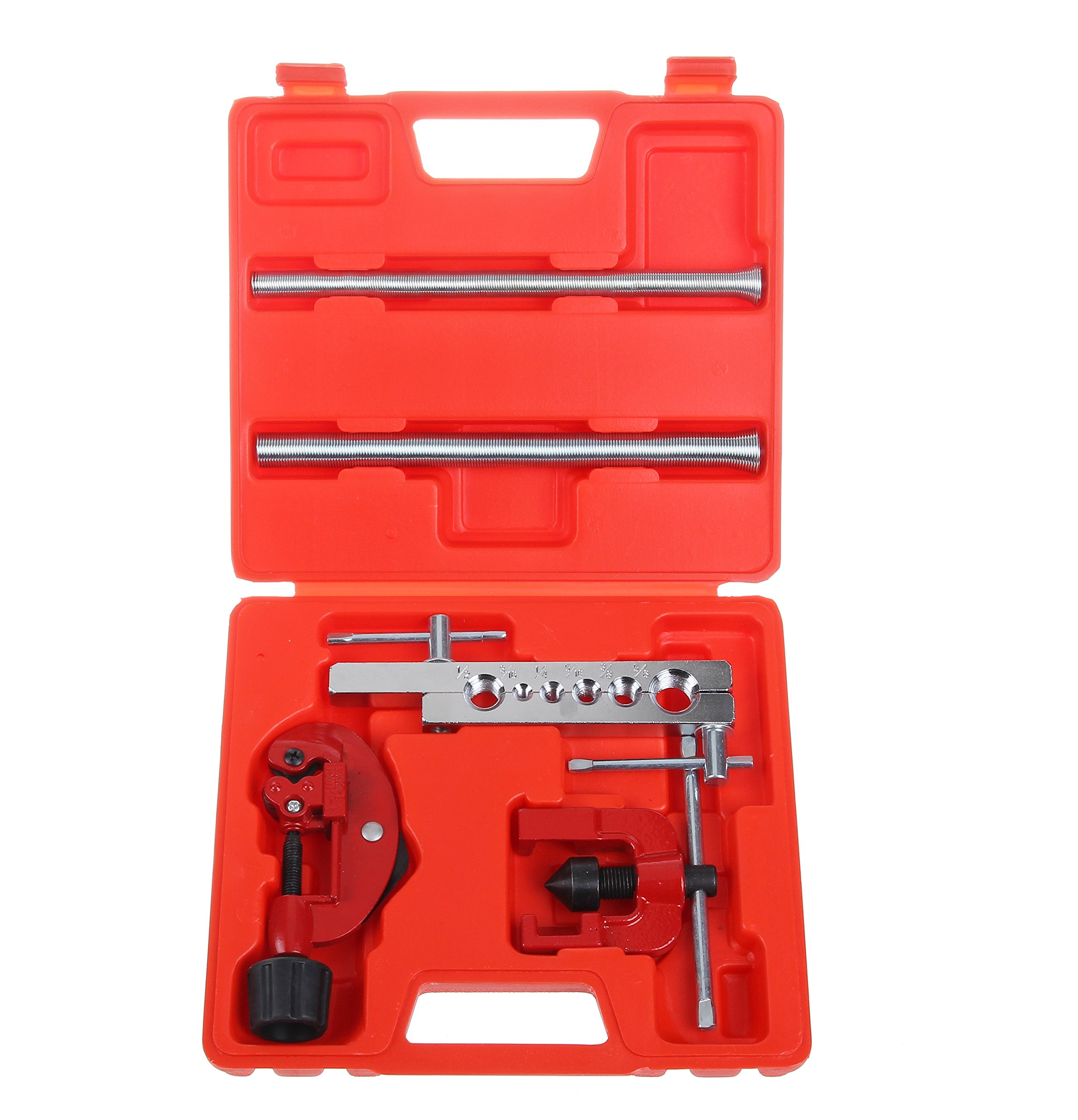 Shankly Flaring Tool Kit (7 Piece), Professional Tube Cutter & Flaring Tool Set