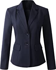 Beninos Women's Formal 2 Button Blazer Jacket Sport Coat