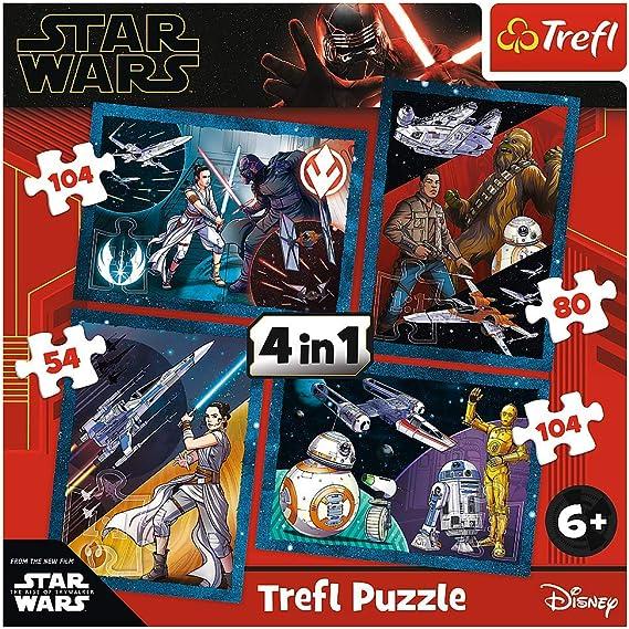 Trefl Puzzle lot of 3 mini puzzle Trailers 54pz