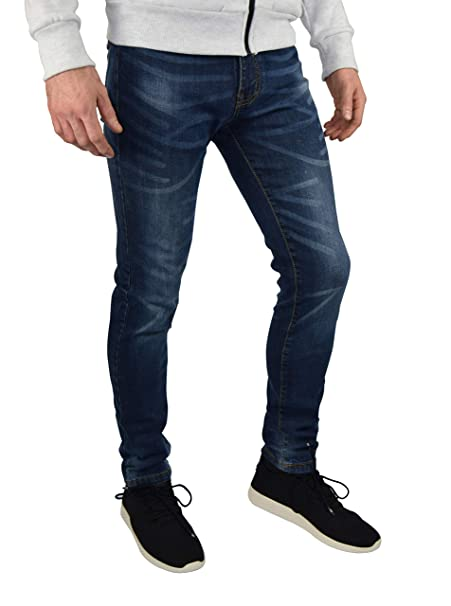 westAce Mens Slim Fit Stretch Jeans Comfy Fashionable Super Flex Denim Pants