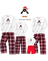 Christmas Penguin at the North Pole Family Matching Outfits