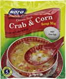 Nora Chinese Style Crab and Corn Soup Mix, 2.12-Ounce (Pack of 6)