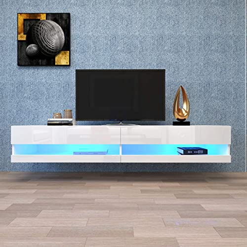 Mrs Bad Wall Mounted Floating TV Stand
