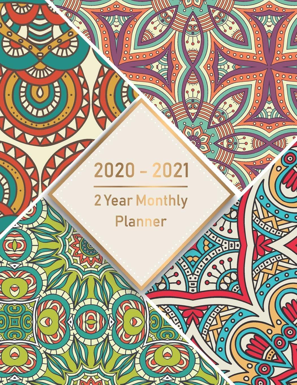 2 Year Monthly Planner 2020-2021: Monthly Schedule Organizer ...
