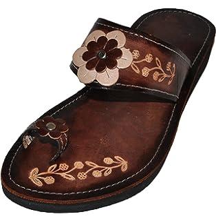 860b8646122d Women s Authentic Handmade Mexican Sandals (Huaraches) Flor mich