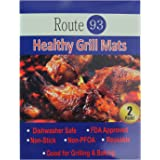 Healthy Grill Mats - BBQ Grill accessory, Non stick, Easy to Clean, PFOA Free, FDA Approved, Great for Camping & Home Use