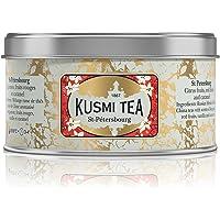 Kusmi Tea - St. Petersburg - Russian Black Tea Blend with Bergamot, Caramel & Red Fruits - 125g of All Natural, Premium…